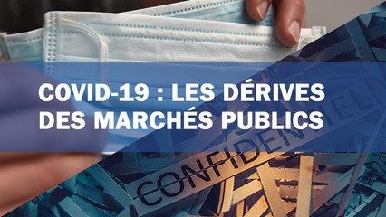 Covid-19 : les dérives des marchés publics