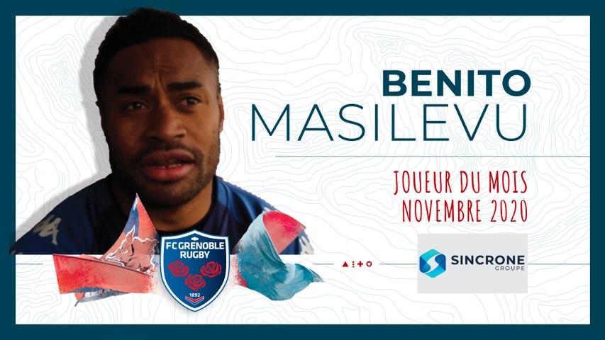 Video : Video - Benito Masilevu, joueur du mois de novembre