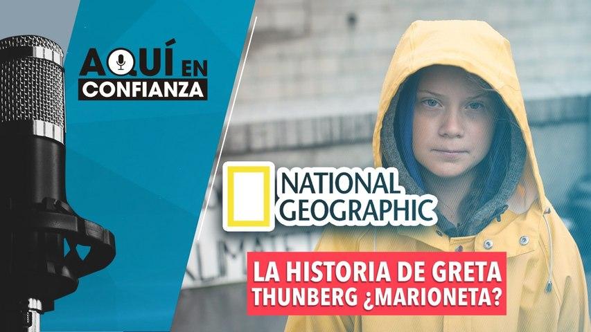 La historia de Greta Thunberg ¿marioneta?
