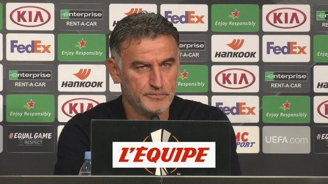 Galtier : «Qualifiés dès la 5e journée, une performance» - Foot - C3 - Lille