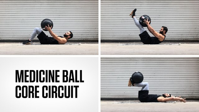 Medicine Ball Core Circuit