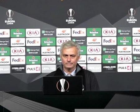 """Groupe J - Mourinho : """"La phase de groupes de Ligue Europa ne motive pas certains de mes joueurs"""""""
