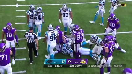 NFL 2020 Carolina Panthers vs Minnesota Vikings Full Game Week 12