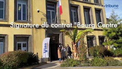 VIAS - Signature du contrat « Bourg Centre »