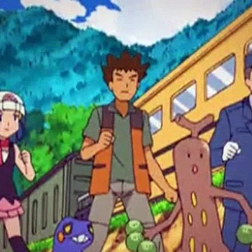 Pokemon Season 12 Episode 25 Frozen On Their Tracks (English)
