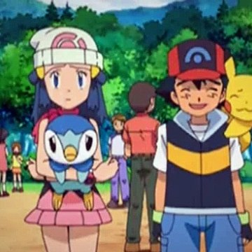 Pokemon Season 12 Episode 30 Beating The Bustle And Hustle (English)
