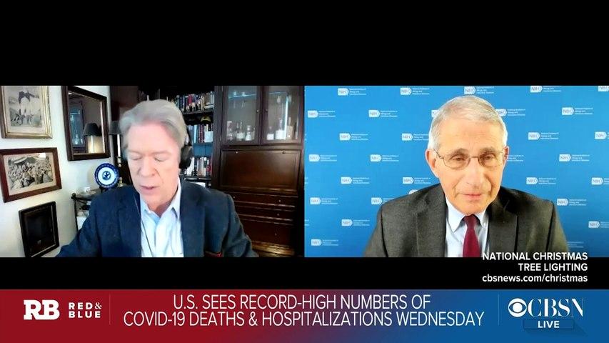 Fauci says U.K. rushed vaccine approval, FDA won't cut corners