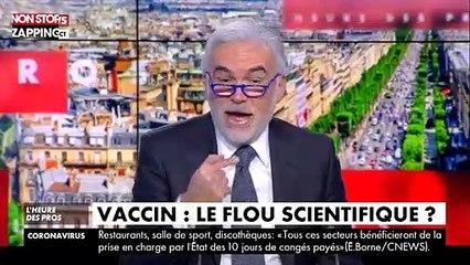 L'Heure des Pros : Pascal Praud s'agace après la conférence de presse sur les vaccins (vidéo)