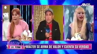 """Susy Díaz acusa a Walter Obregón de agresión: """"Me dijiste que venías de estar con otra mujer"""""""