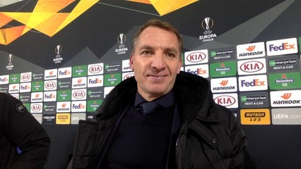 """Really unfortunate..."" Brendan Rodgers on a shadow Leicester's 1:0 defeat at Zorya"