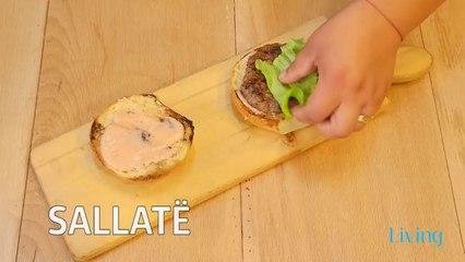 Receta në 2 minuta - Hamburger