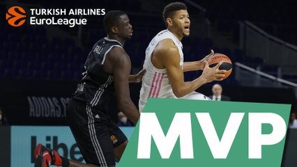 MVP of the Week: Walter Tavares, Real Madrid