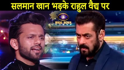 Salman Khan Slams Rahul Vaidya For Not Performing In Task |Bigg Boss 14