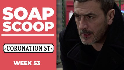 Coronation Street Soap Scoop - Peter's devastating health news