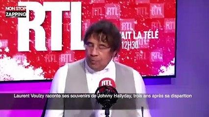 Laurent Voulzy raconte ses souvenirs de Johnny Hallyday, trois ans après sa disparition (vidéo)