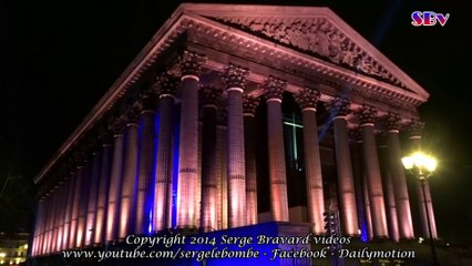 N°218 PARIS Superbe balade lumineuse & musicale / Superb bright and musical ride
