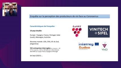 La filière vin après le Coronavirus - une étude internationale de la Chaire Vins et Spiritueux de l'INSEEC