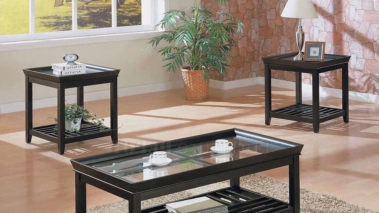 Contemporary Coffee Table Sets