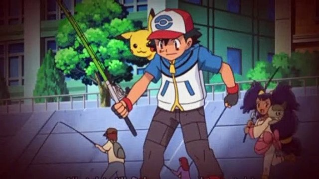 Pokemon S14E26 Enter Fishing Sommelier Dent!