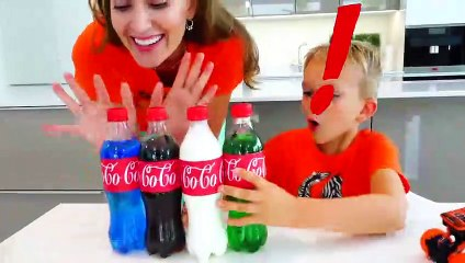 Vlad and Niki Chocolate Challenge - Funny stories for kids