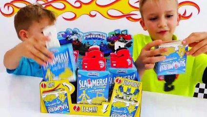 Batcave Playset Kids Toy Unboxing and Play with Vlad & Niki