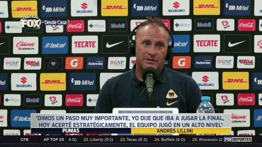 """""""Hoy acerté estratégicamente, el equipo jugó en un alto nivel"""", Andrés Lillini: Liga MX"""
