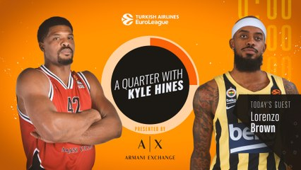A Quarter with Kyle Hines and Lorenzo Brown!
