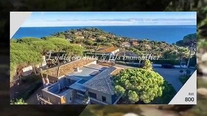 Vente villa Neuve Sainte-Maxime Vue Mer Sémaphore Piscine