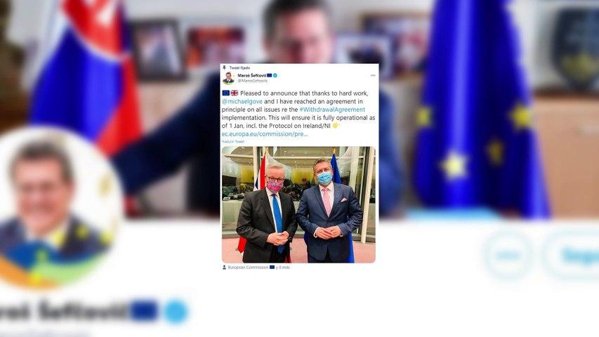 Londres acuerda con la UE retirar la norma que diseñó para incumplir parte del acuerdo del Brexit