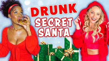 Drunk Shopping For Our Secret Santas?!