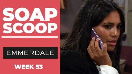Emmerdale Soap Scoop! New Year storylines revealed