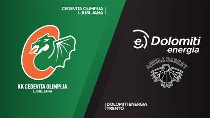 7Days EuroCup Highlights Regular Season, Round 9: Olimpija 87-65 Trento