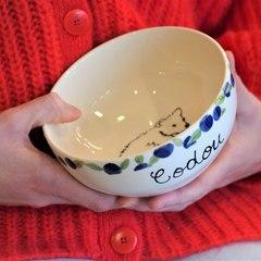 Tutoriel pour peindre un bol breton personnalisé