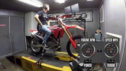2021 Honda CRF450R Dyno Test