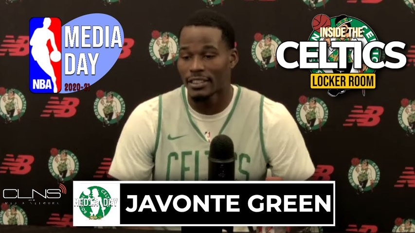 Javonte Green Talks Second Season with Celtics