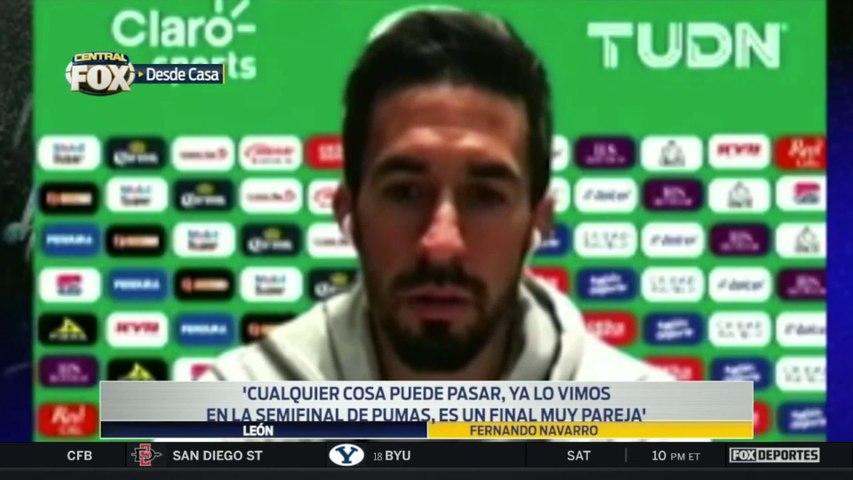 """""""Cualquier cosa puede pasar"""", Fernando Navarro: Liga MX"""
