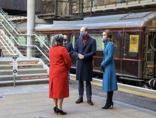 Kate Middleton : Son premier voyage à bord du Train Royal