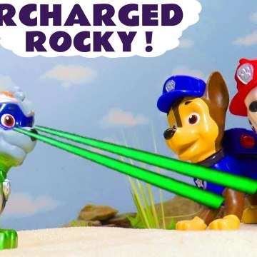Paw Patrol Charged Up Rocky with a Funny Funlings Hide and Seek Challenge in this Family Friendly Full Episode English Toy Story for Kids from Kid Friendly Family Channel Toy Trains 4U