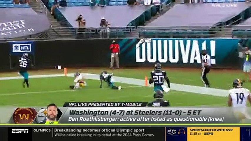 Marcus Spears goes crazy Pittsburgh Steelers vs. Washington Football Team Week 13