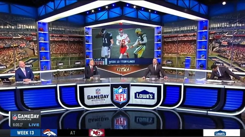 Michael Irvin 'can't wait' Dallas Cowboys vs Baltimore Ravens Week 13 _ NFL Gameday Morning