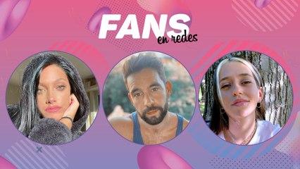 Oriana, Cachete Sierra y Leti Siciliani en Fans en redes