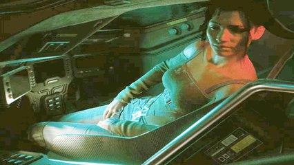 Panam Romance Scene Inside the Tank - Cyberpunk 2077