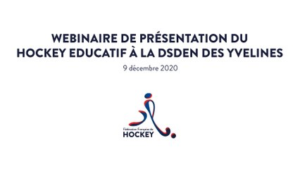 Formation professeurs des écoles  - DSDEN78 - FFHockey