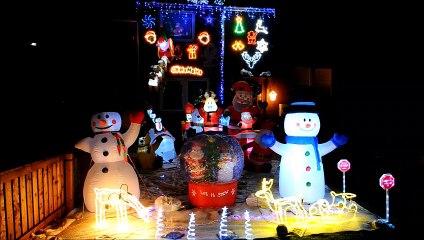 Banknock Christmas Spirit lights raising funds for Strathcarron Hospice