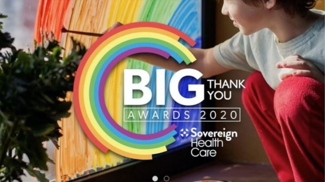 VIRTUAL AWARDS: The Big Thank You 2020 celebrating Yorkshire's local heroes