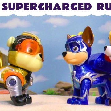 New Paw Patrol Super Charged Rubble from Paw Patrol Mighty Pups with marvel Avengers Ultron in this Family Friendly Full Episode English Toy Story for Kids from Kid Friendly Family Channel Toy Trains 4U