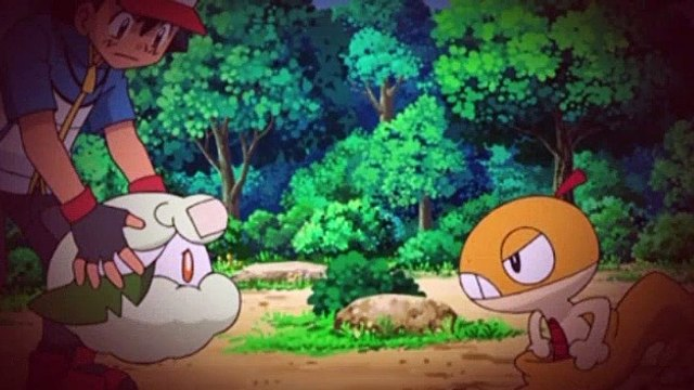 Pokemon S14E32 The Lovestruck Monmen Rides The Wind!