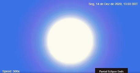 Como Brasília verá o eclipse total de 14 de dezembro