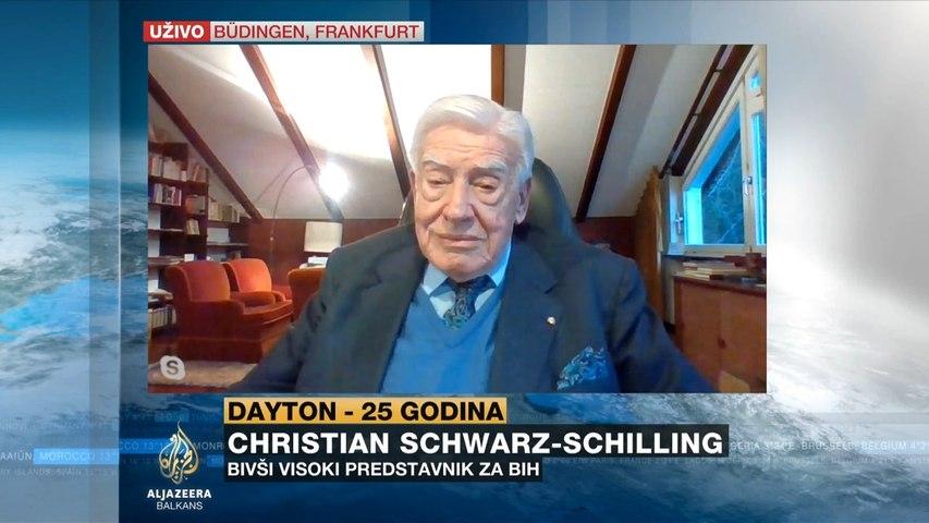 Schwarz-Schilling: Ubijeđen sam da Biden neće samo pričati