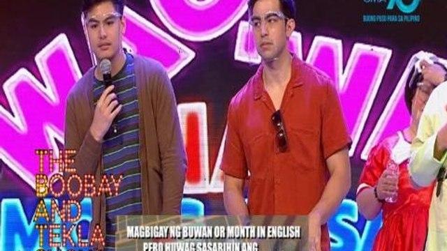 TBATS: Derrick Monasterio at Migo Adecer, G na G sa pakikipaglaro! | YouLOL